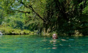 Becca Swimming at SeMuc