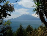 Lake  Atitlan and the Volcano