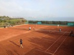 Tennis in Lima on the Pacific Coast