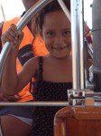 Tehana at the helm!