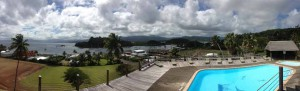 Savusavu Anchorage from the Hot Springs Hotel