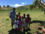 Fili and his Grandchildren, Makogi, Fiji