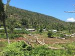 One can still see the ruin after Cyclone Winston, Makogai, Fiji