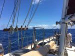 A wonderful sail from Savusavu to Makogai, Fiji